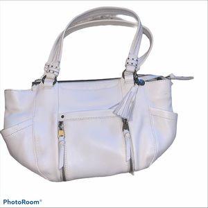 The Sak white shoulder purse. Medium size bag